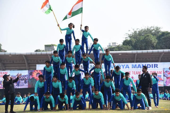 Bhai Parmanad Vidya Mandir-Independence Day