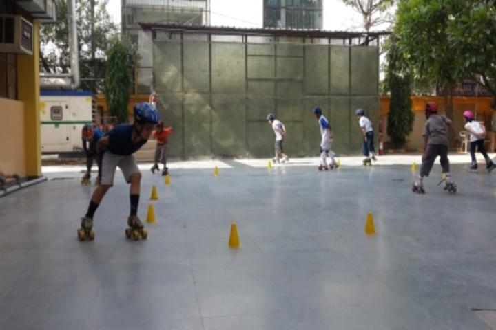 Bhai Parmanad Vidya Mandir-Skating Activity