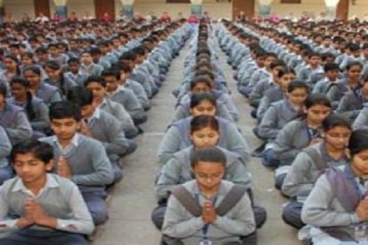Bharat Mata Saraswati Bal Mandir-Yoga Day