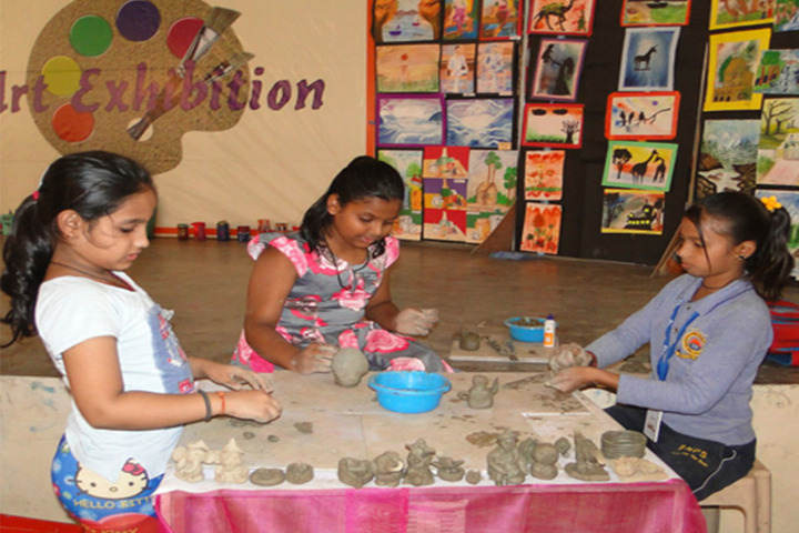 Bharat National Public School-Art And Craft