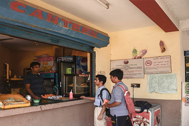 Bharat National Public School-Cafeteria Facility