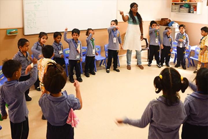 Bharat National Public School-Classroom