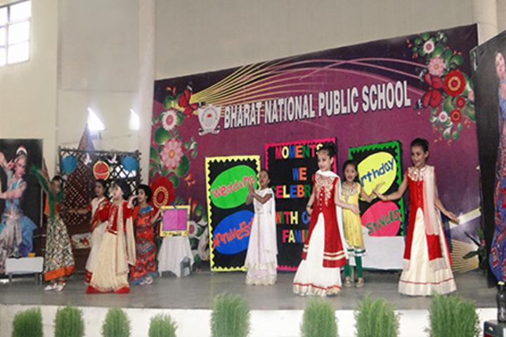 Bharat National Public School-Dancing Activity