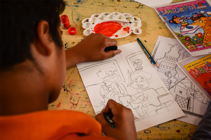 Bharat National Public School-Drawing Competition