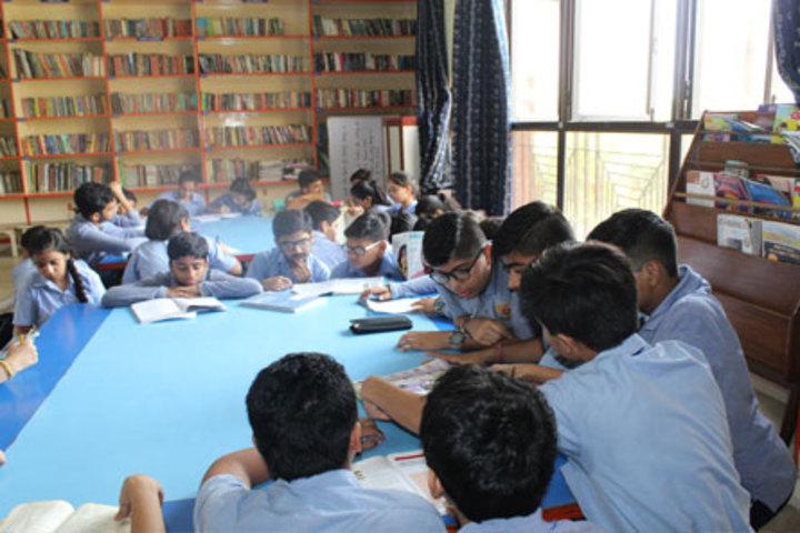 Bharat National Public School-Library