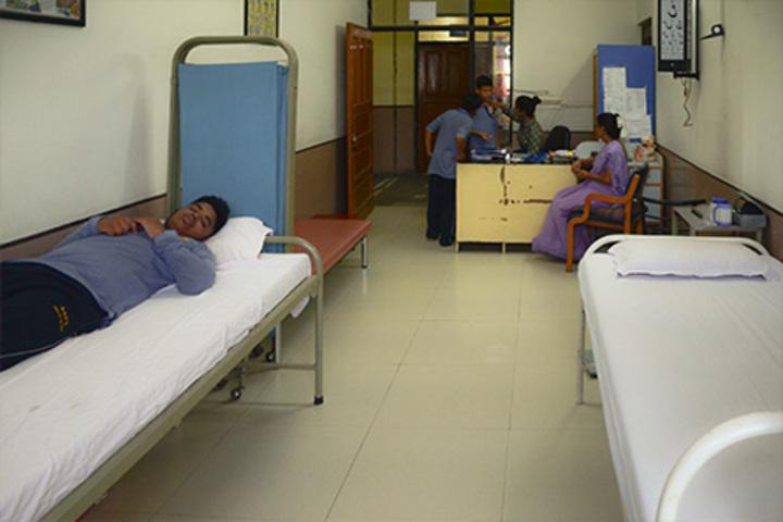 Bharat National Public School-Medical Room