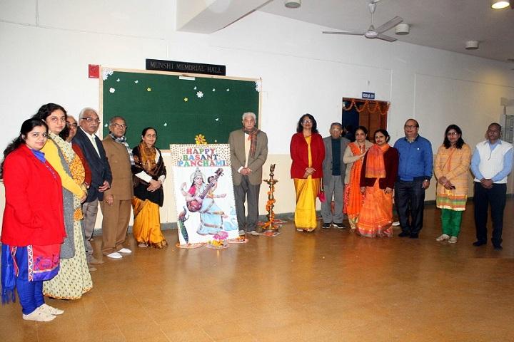 Bharatiya Vidya Bhavans Mehta-Basanth Panchami Celebrations