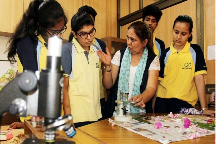 Bharti Public School-Biology Lab