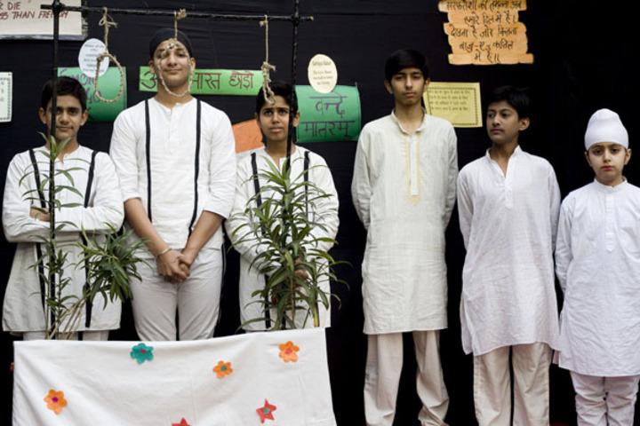 Bharti Public School-Drama