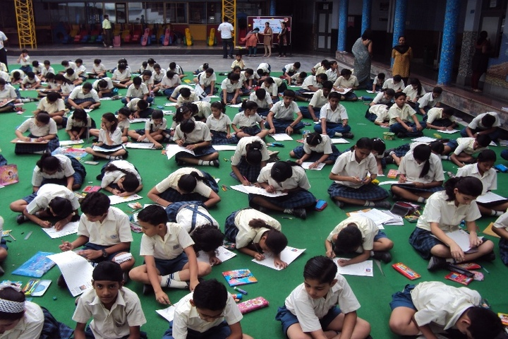 Bharti Public School-Drawing Competition