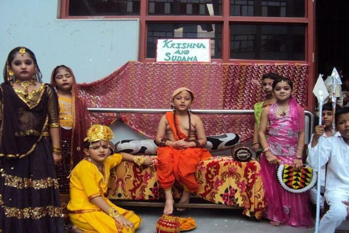 Bharti Public School-Krishna Janmastami