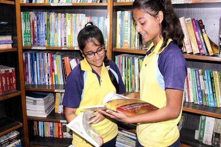 Bharti Public School-Library