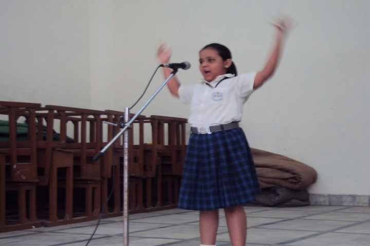 Bharti Public School-Rhyme Competition