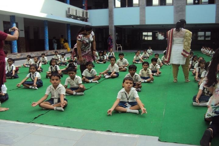 Bharti Public School-Yoga Day