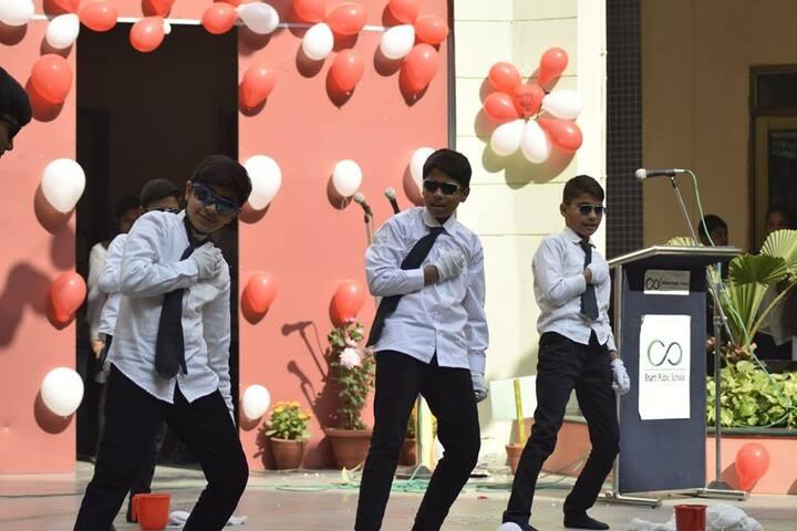 Bharti Public School-Dancing Activity