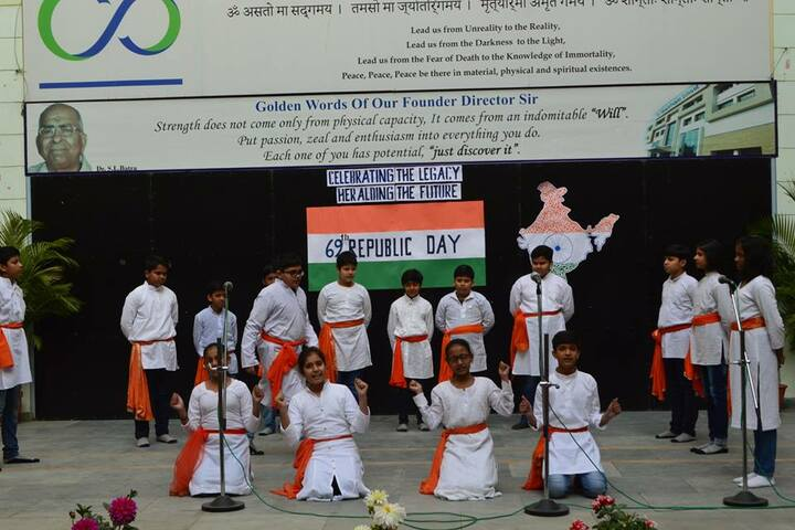 Bharti Public School-Republic Day