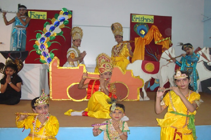 Bhatnagar International School-Janmashtami