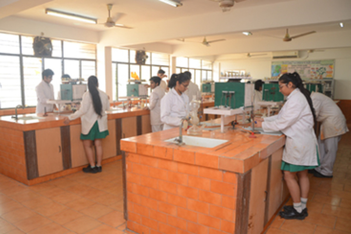 Bhatnagar International School-Chemistry Lab