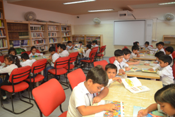 Bhatnagar International School-Library