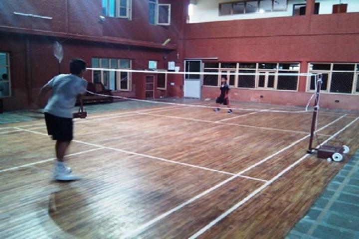 Bosco Public School-badminton