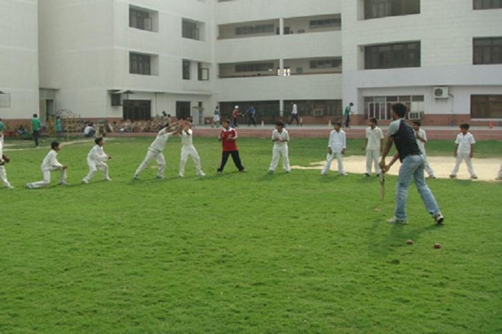 Bosco Public School-cricket ground