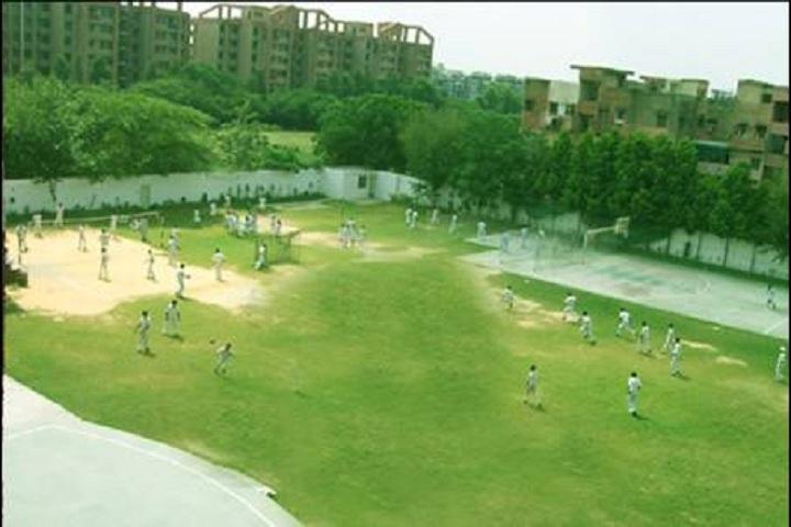 Bosco Public School-football ground