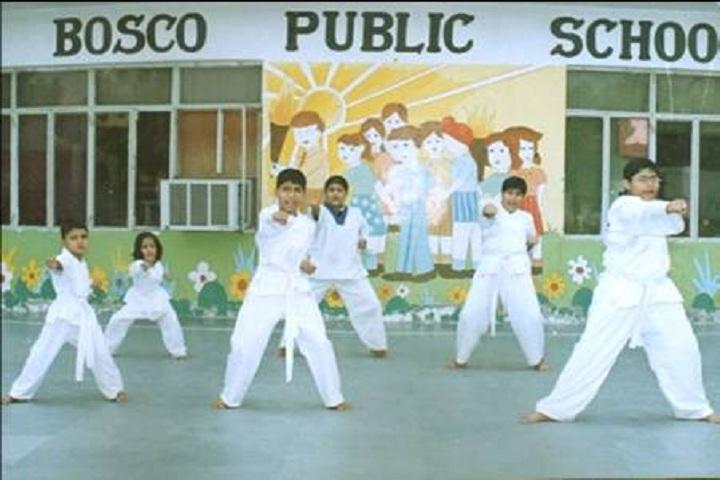 Bosco Public School-karate