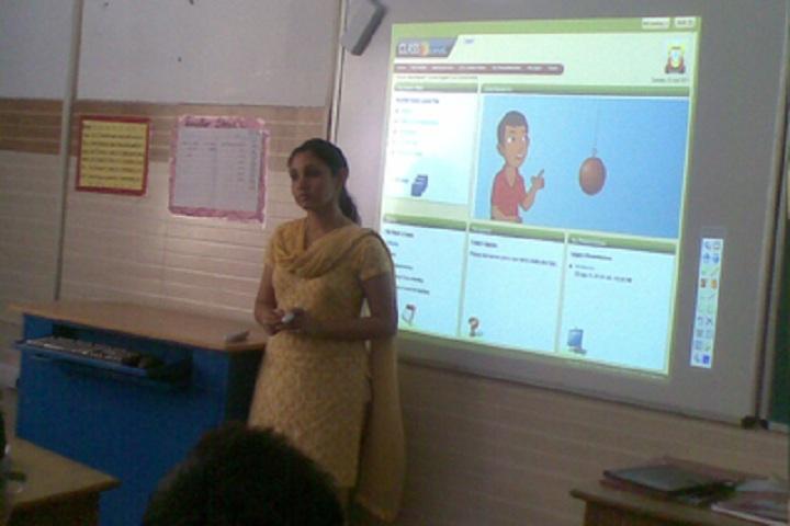 Bosco Public School-smart classrooms
