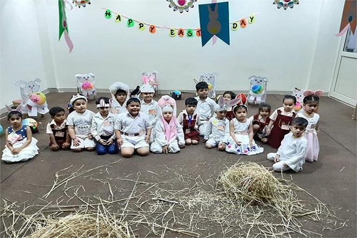 Brain International School- Easter Egg Hunt