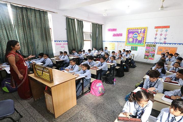 Brilliants Convent Senior Secondary School-Class Room