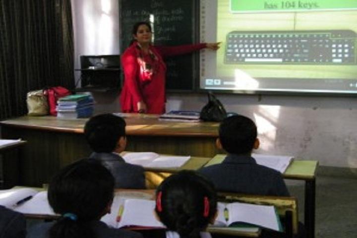 Brilliants Convent Senior Secondary School-Class
