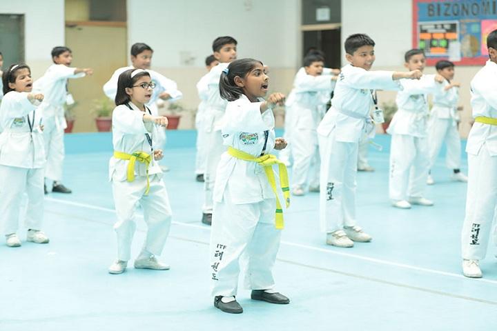 Brilliants Convent Senior Secondary School-Karate