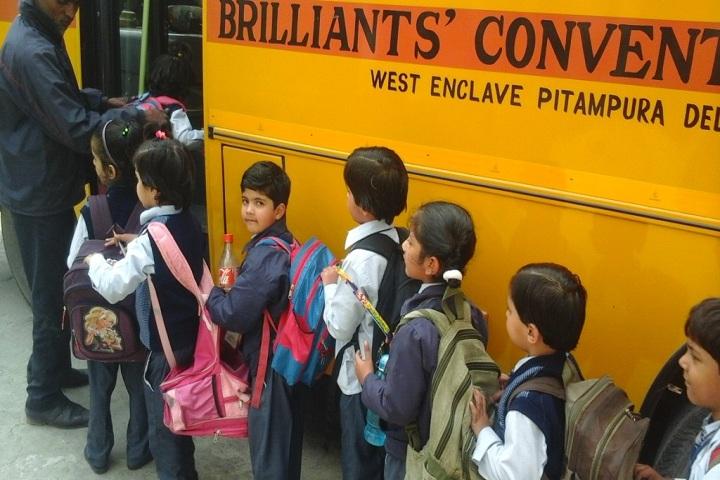 Brilliants Convent Senior Secondary School-Transport