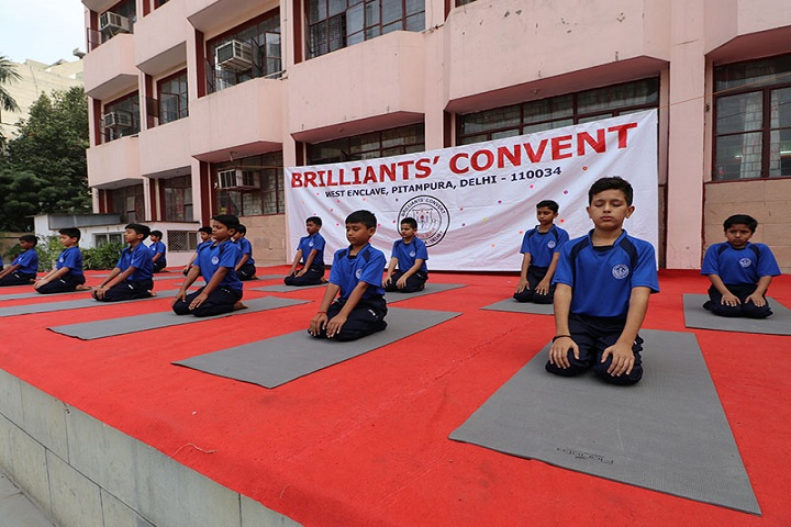 Brilliants Convent Senior Secondary School-Yoga