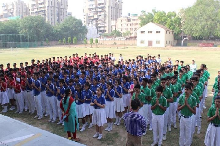 CRPF Public School-Assembly Ground