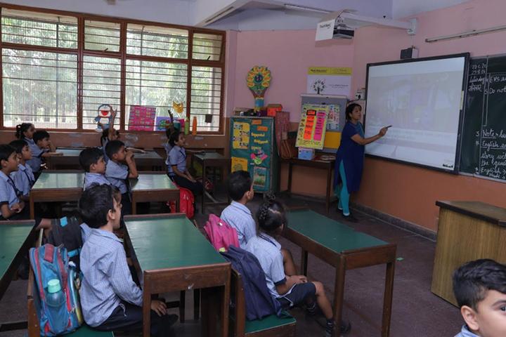 CRPF Public School-Class