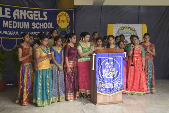 Little Angels School-Singing