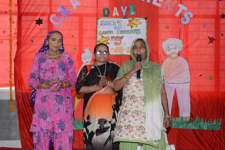 C R Saini Public School-Grand Parents Day