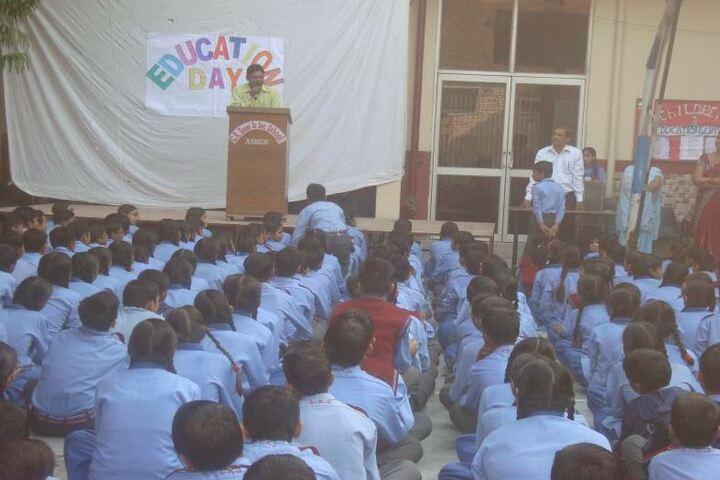 C R Saini Public School-Meeting