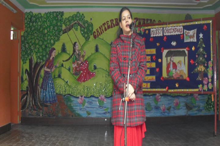 Canterbury Public School-Speech