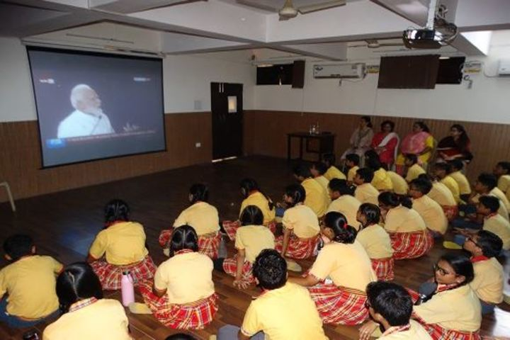 Columbia Foundation Senior Secondary School  Vikas Puri-AV Room