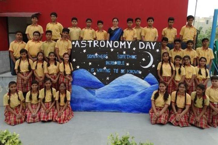 Columbia Foundation Senior Secondary School  Vikas Puri-Astronomy Day