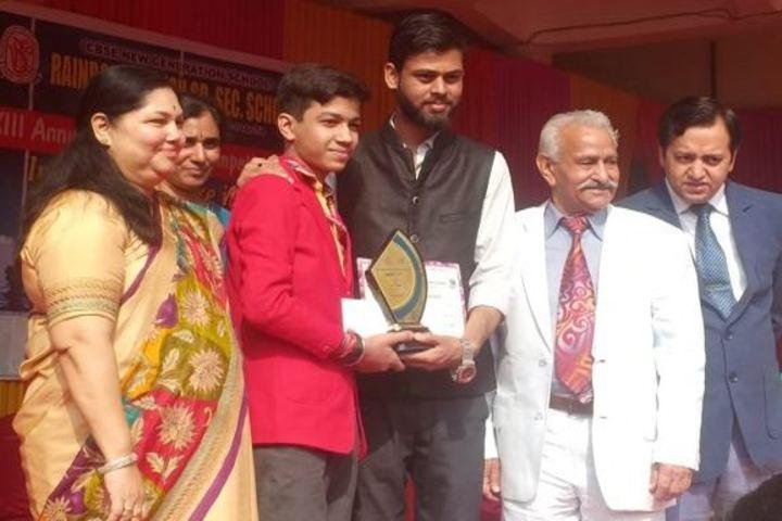 Columbia Foundation Senior Secondary School  Vikas Puri-Award Distribution