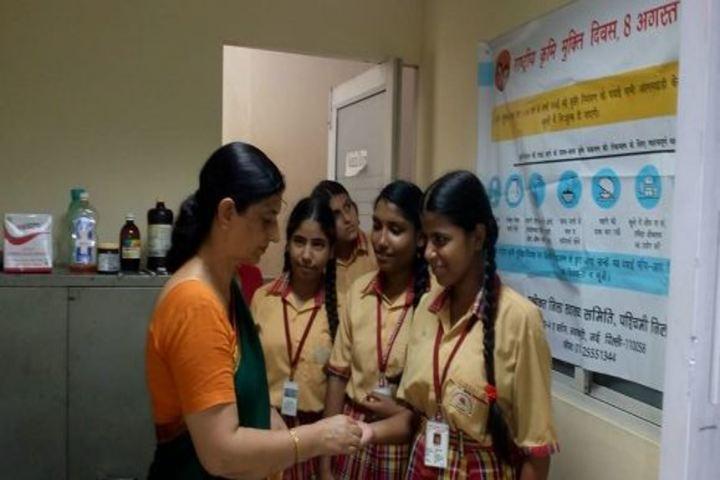 Columbia Foundation Senior Secondary School  Vikas Puri-Medical Checkup