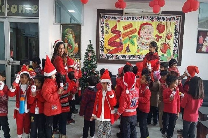Crescent Public School-Red Day