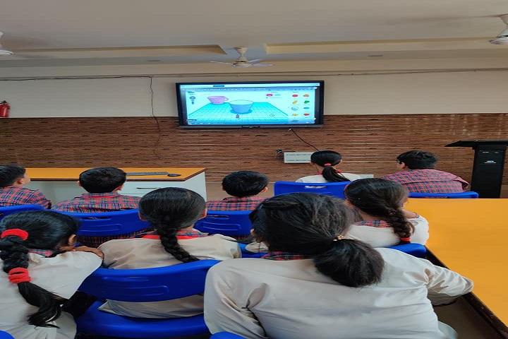 D A V Public School-Smart Classroom