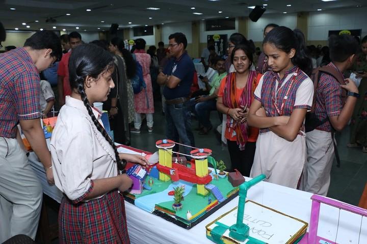 D A V Public School-Exhibition