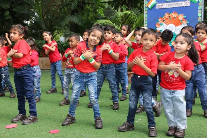 D A V Public School-Independence Day Celebrations