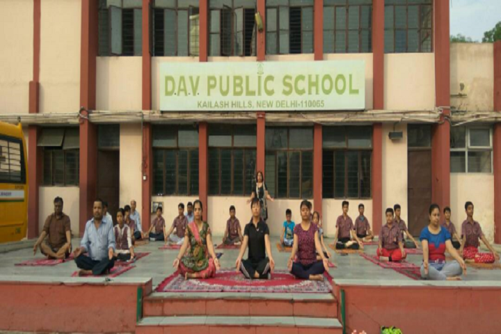 D A V Public School-Meditation