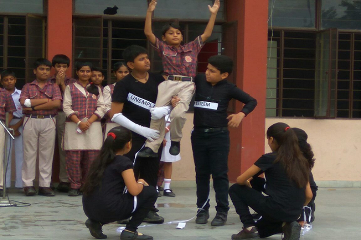 D A V Public School-Skill Day